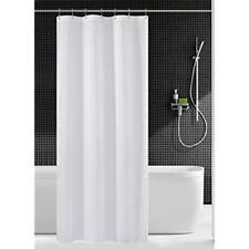 N&Y HOME Fabric Shower Curtain Liner White - 36 X 72 Inch Bath Stall Size, Hotel