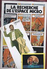 E.P. JACOBS. La recherche de l'Espace Micro / Mission Solo. Publicité 1986