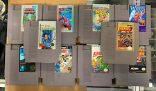 10 Classic NES Games Ikari Warriors Castlevania Bayou Billy Pro Wrestling