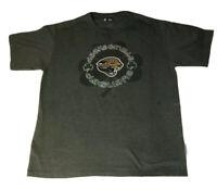 Jacksonville Jaguars Shamrock T-shirt Large NFL Apparel Irish St Patrick's Day