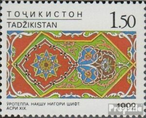 Tajikistan 31 (complete issue) unmounted mint / never hinged 1993 Crafts