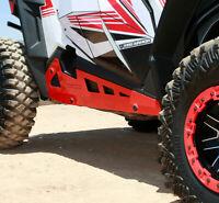 Pro Armor Rock Sliders Guard Protector Red Polaris RZR 900 1000 Turbo