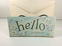 "Vintage Mid Century 1950's Greeting Card  ""Birthday"" w Envelope"
