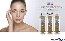 Equipo de tratamiento facial anti arrugas age control skin galvanic Vida 10