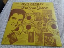 ELVIS PRESLEY SUN LP 1001 THE SUN YEARS INTERVIEWS&MEMORIES YELLOW COVER SEALED