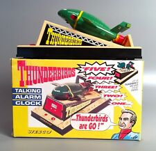 THUNDERBIRDS Electronic Alarm Clock TB-2 Original Box 1992 Wesco Gerry Anderson
