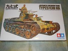 Tamiya 1/35 Japanese Medium Tank Type 97 ( Chi-HA ) Model Tank Kit #35075