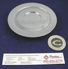 CHRYSLER 300 CHROME CENTER CAP 1 PIECE  PART # 99-04300