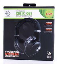 SteelSeries Spectrum 7XB Schwarz Wireless Headset NEU XBOX 360 Zubehör