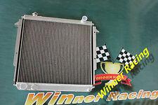 aluminum radiator JEEP XJ COMANCHE/WAGONEER/CHEROKEE 2.1 DESIEL,2.5/2.8 PETROL