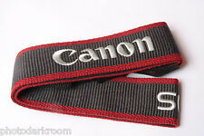 "Canon 1.5"" Nylon Web EOS Digital Camera Strap 3/8"" Loop - NEW Bulk D49"