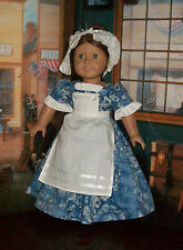 American Girl Doll Historical Dress & Completer Set - Felicitys Day or Tea Gown