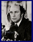 FOTOGRAFIA PRESS PHOTO VINTAGE 1972 PREMIER CANADA PIERRE TRUDEAU A LONDRA
