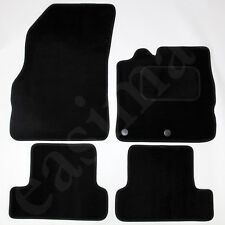 Renault Megane Mk3 2008 - 2016 Tailored Carpet Car Mats Black 4pc Floor Mat Set