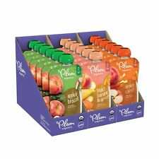 Plum Organics Stage 2, Organic Baby Food, Fruit and Veggie Variety Pack,