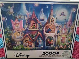 Ceaco Disney PRINCESS CASTLE HAPPILY EVER AFTER 2000 Piece Jigsaw Puzzle