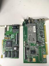 ATI ISA TV Tuner Card Model 109-34100-10 + ATI 3D Rage IIC AGP