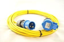 Caravan/Camping Hook Up powerCable in 2.5mm² cable 10MTR in Yellow see our shop