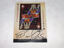 2015 Goodwin Champions GAME of CHANCE King of Clubs Bernard Oliver Auto/25 Lich