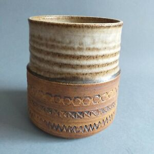 Mid-Century Modern, Vintage, Retro Broadstairs Studio Pottery Container