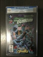 GREEN LANTERN: NEW GUARDIANS # 8 /New 52! / CGC Universal 9.8 / June 2012