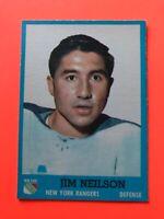 Jim Neilson 1962-63 Topps #49  Vintage Hockey Card