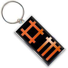 Official Depeche Mode - Block Logo - Metal Keyring
