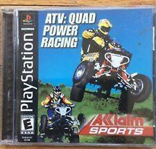 ATV: Quad Power Racers Playstation 1 Game  NIB NIP Akklaim