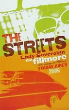 The Streets Concert POSTER Lady Sovereign Fillmore F785 Brandy Faucette