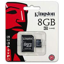 Kingston 8 GB Micro SD Karte Class 4 Speicherkarte MicroSDHC 8GB Memory Card SDH