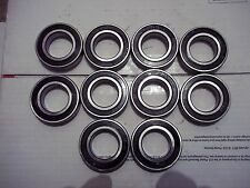 6006 2RS premium quality doubeled sealed ball bearing 30x55x13 lot of ten