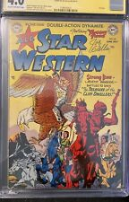 All Star Western #59 (1951) CGC 4.0 Signed Joe Giella