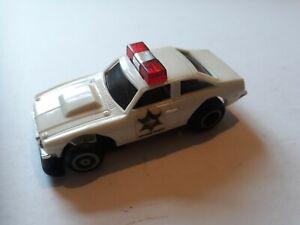 IDEAL TCR SLOTLESS RACING CAR - DUKES OF HAZARD SHERIFF CAR 4695-3