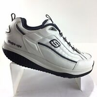 Skechers Shape Ups Toning Walking Athletic Shoes White Men's 10.5 M Shoes RC10