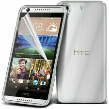 Ultra Thin Clear TPU Gel Skin Case Cover & LCD Film For HTC Desire 626