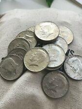 "1964 Kennedy Half Dollar 90% SILVER - US Mint Coin - ""Average Circulation Lots"""