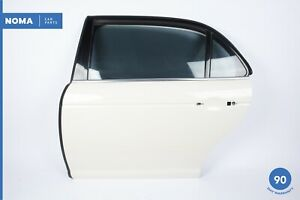 04-07 Jaguar XJ8 VDP X350 LWB Rear Left Door Shell White Porcelain JBC2023 OEM