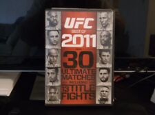 UFC: Best of 2011 (Blu-ray Disc, 2012, 2-Disc Set) IN MINT CONDITION