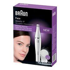 Braun Face 810 Facial Epilator, Hair Removal & Facial Cleansing, Brush & battery
