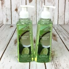 Simple Pleasures Hand Soap Coconut Lime Scent 13.5 Oz Lot of 2 Cruelty Free