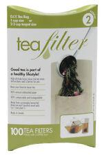 D.I.Y. Tea Bag Paper Tea Filter 2-3 Cup Teapot Size - 100 Count - Size 2