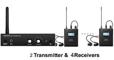 Anleon S2 UHF Wireless In-Ear Monitor System 2 transmitters 4 Receivers