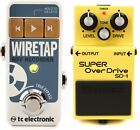 Boss SD-1 Super Overdrive Pedal + TC Electronic WireTap Riff Recorder Pedal for sale