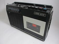 Vintage Channel Master Transistor Radio Cassette Recorder Model 6397 Not Working