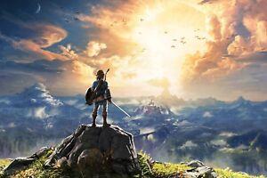 The Legend Of Zelda Breath Of The Wild LOZ10 A3 POSTER ART PRINT BUY2GET 1 FREE