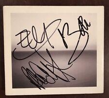 U2 - Edge + Bono + Adam Signed / Autographed 'No Line On The Horizon' Cd - Rare!