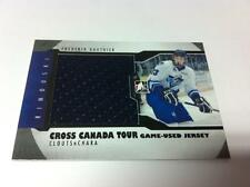 2013 ITG CROSS CANADA TOUR GAME USED JERSEY 1/1 FREDERIK GAUTHIER RIMOUSKI