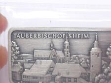 Heraeus Silberbarren Feinsilber 999 Silber Barren Tauberbischofsheim 1 OZ Unze