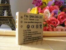 Battery DB-L20 for Sanyo CA65 CA8 CG9 CG65 E2 CA9 E60 E6 E7 J4 C1 C4 C5