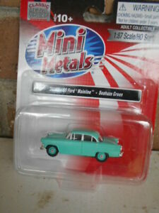 Classic Metal Works #30385 1955 Ford Mainline Seahaze Green
